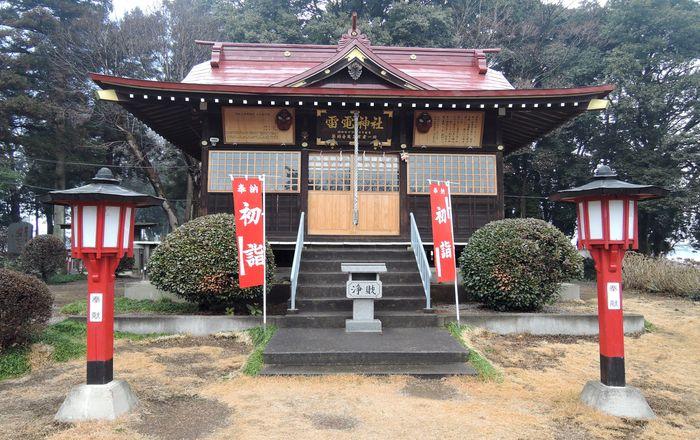 天狗山雷電神社(拝殿)
