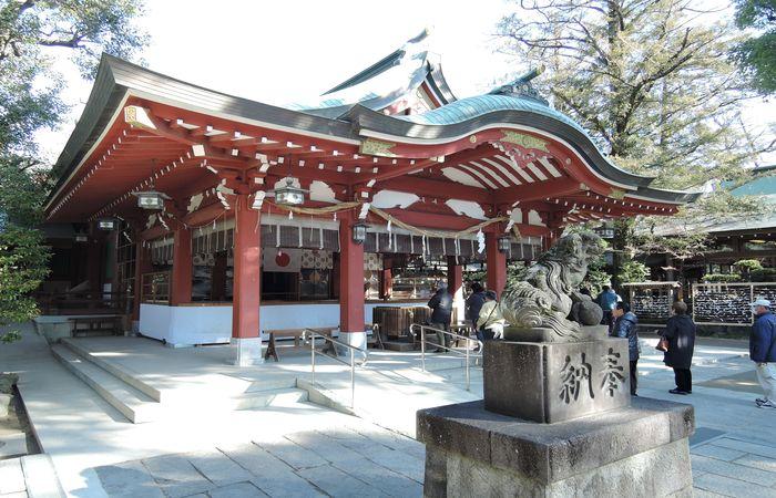 久伊豆神社(拝殿)