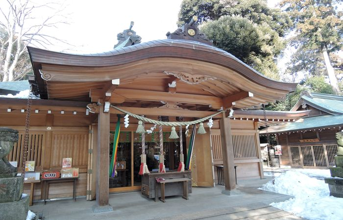 岩槻久伊豆神社(拝殿)