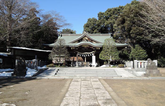 春日部八幡神社(拝殿)