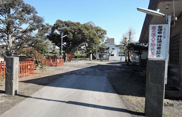 幸宮神社の境内
