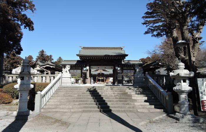 白鷺神社(神門)