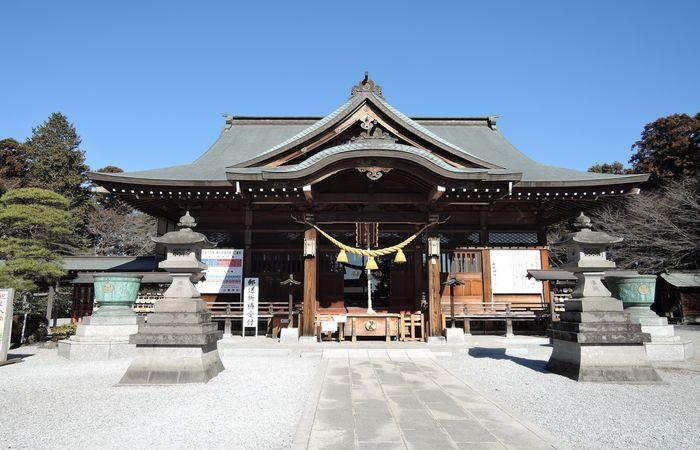 白鷺神社(拝殿)