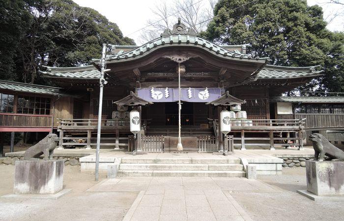 雀神社(拝殿)