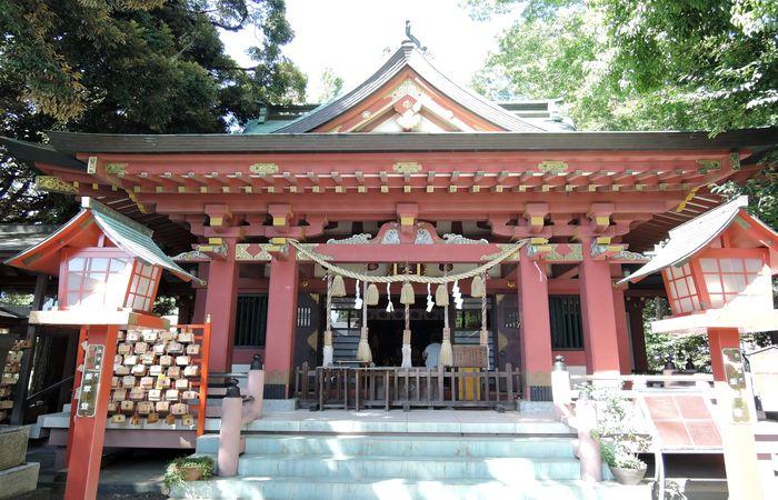 前川神社(拝殿)