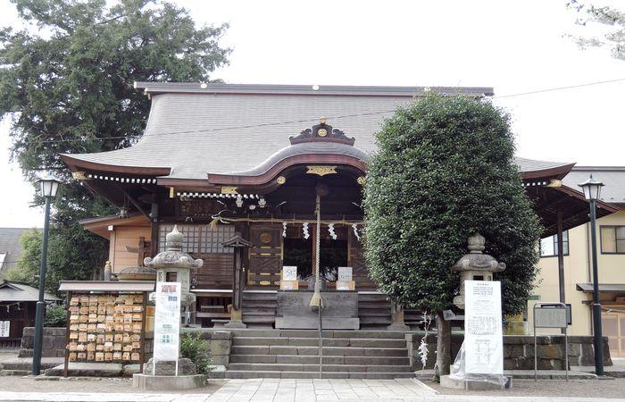 健田須賀神社(拝殿)