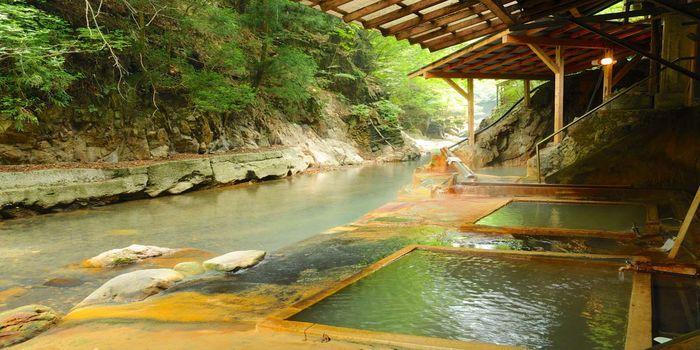 川岸露天風呂
