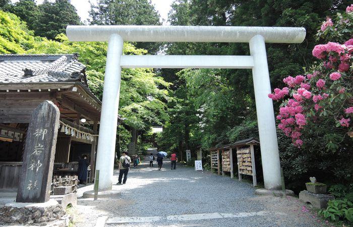 御岩神社(鳥居)