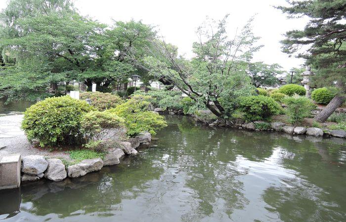 栃木市第二公園(ひょうたん池)