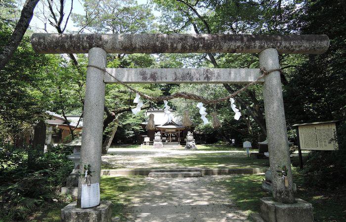 櫻川磯部稲村神社(鳥居)