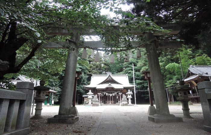 安房神社(栃木県小山市)