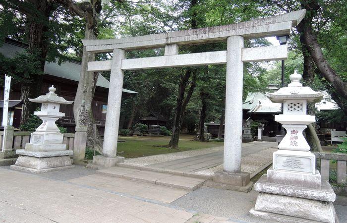 鳥居(野木神社)