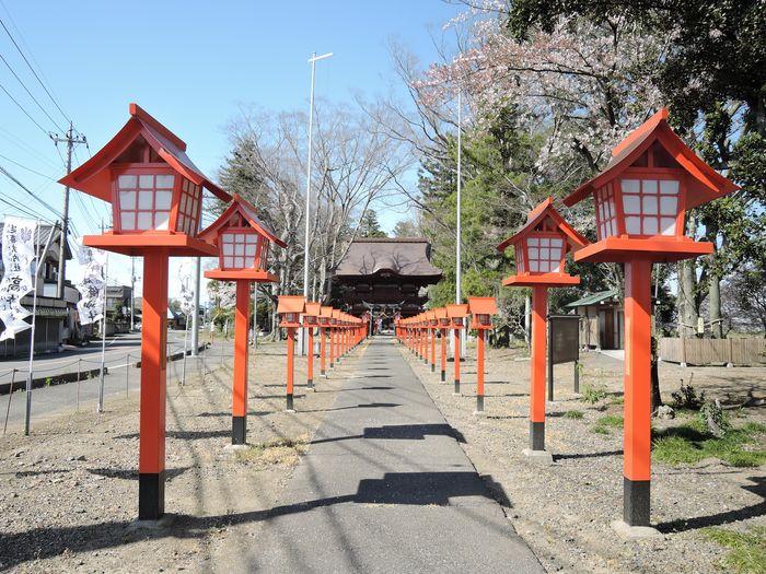 参道(高椅神社)