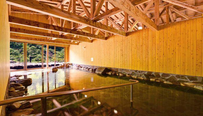 炭酸水素塩泉の温泉地