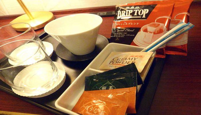 コーヒー・お茶のサービス