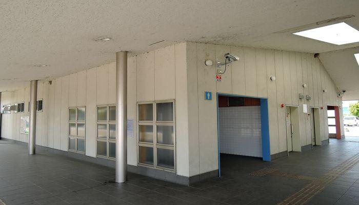 道の駅庄和のトイレ