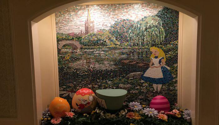 アリスの壁画