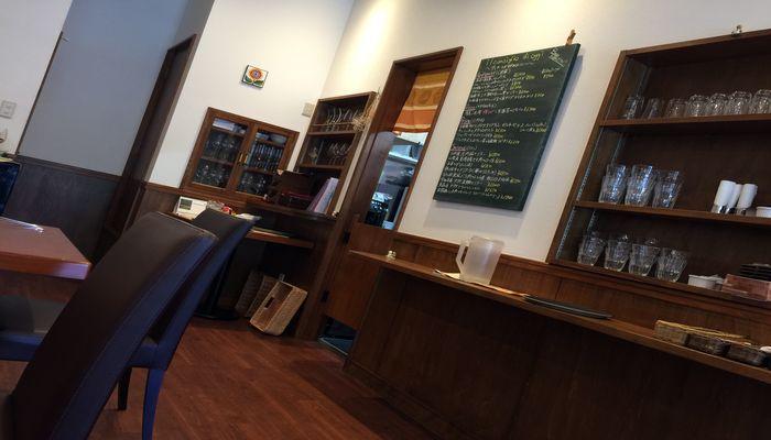 レストランの店内