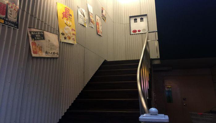 串カツ田中西日暮里店入り口