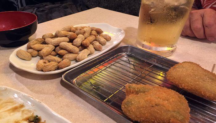 串カツ田中のゆでピーナツ
