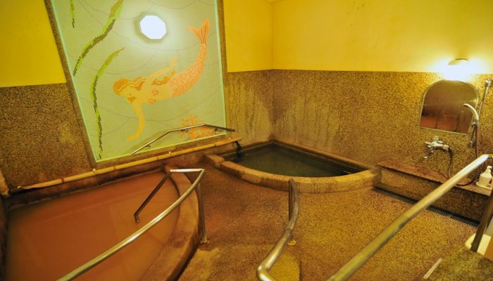 バリアフリー対応の貸切風呂