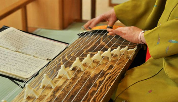 琴の生演奏