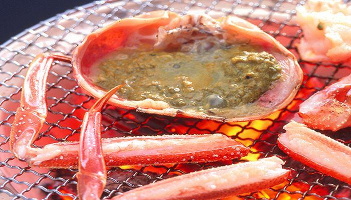 松葉ガニのカニ味噌