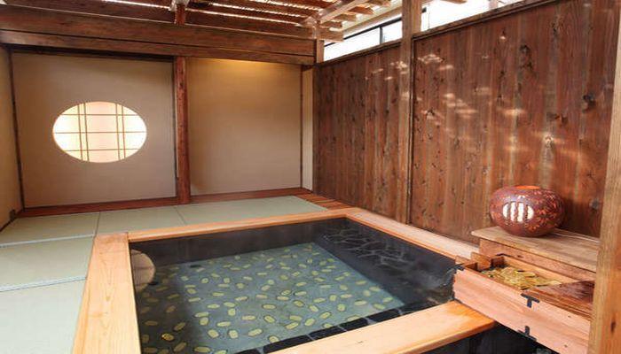 坂戸城の温泉