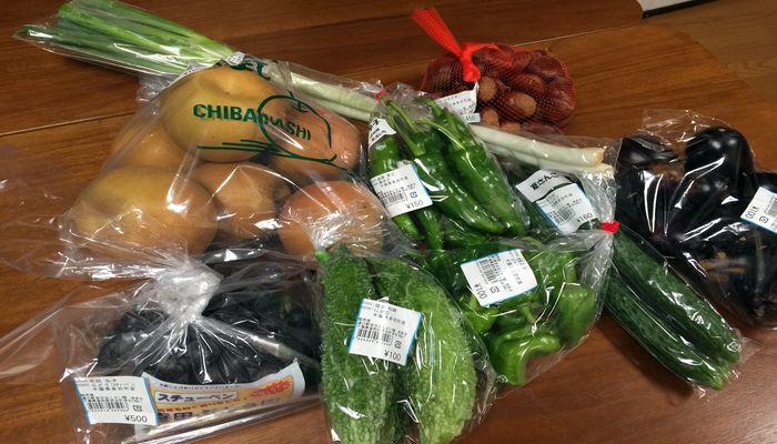 道の駅多古の野菜