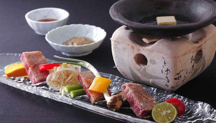 鳥取和牛のステーキ
