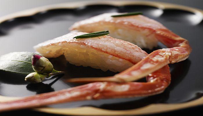 カニの握り寿司