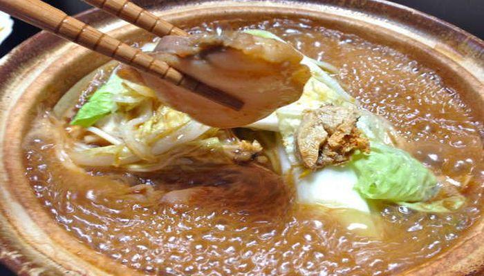 あんこう鍋(特製味噌仕立て)
