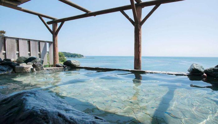 展望露天風呂(昼間の風景)