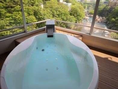 客室展望風呂