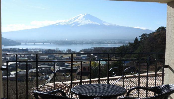 富士山が見えるお部屋