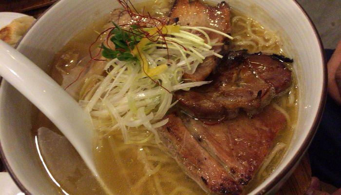チャーシュー塩麺