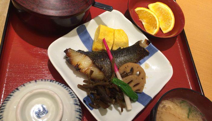 天然銀鱈の塩麹焼き