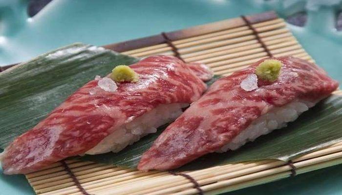 とちぎ和牛の握り寿司