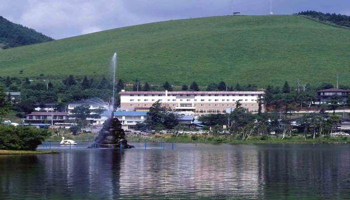 白樺湖ホテルパイプのけむり