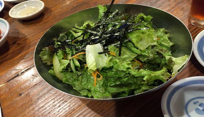 炭火亭サラダ