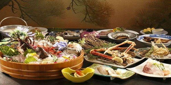 海の幸尽くしの料理
