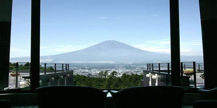 富士山一望の景色