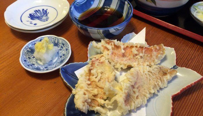 金目鯛の天ぷら