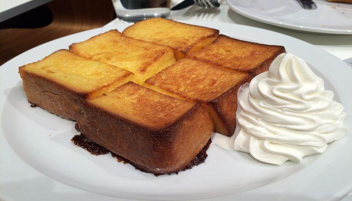 セントルザベーカリーのフレンチトースト