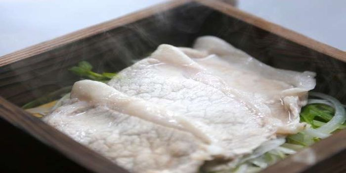 豚肉のセイロ蒸し