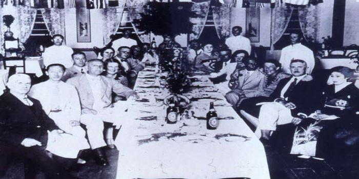 昭和初期の外国人客