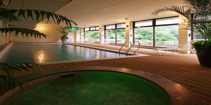 室内温泉プール
