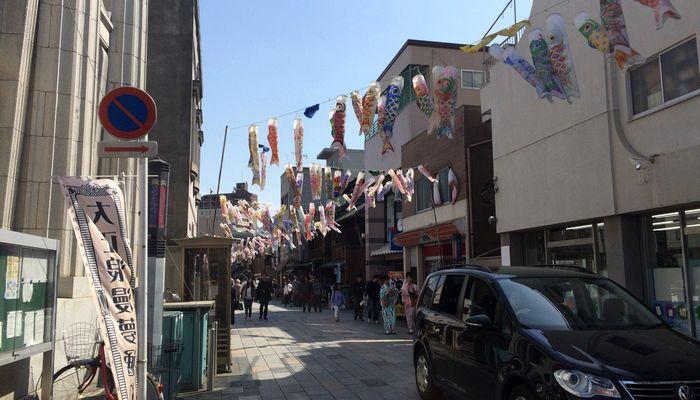 川越商店街