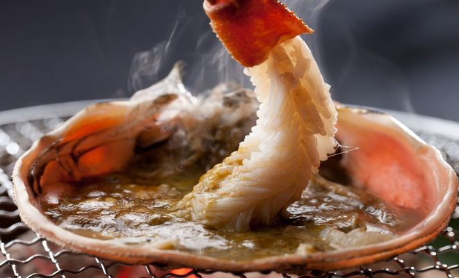 カニ料理(旅館 泉翠)
