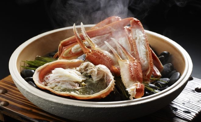 カニ料理(西村屋本館)